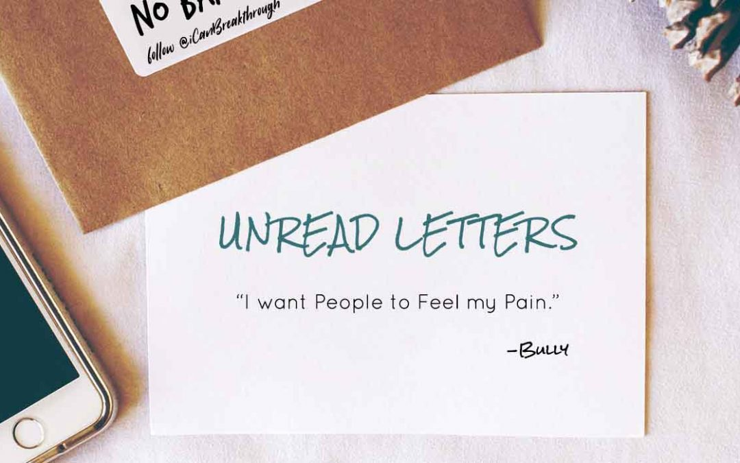 I want People to Feel my Pain – Unread Letters